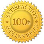 image of RDM satisfaction guarantee seal