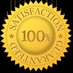 image of RDM satisfaction guarantee seal